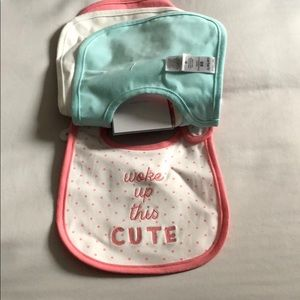 Carter's Accessories - NWT Carters 4 pack bibs